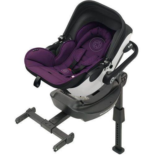 KIDDY Evoluna i-size (0-13 kg) Fotelik samochodowy + baza ISOFIX 2017 – Royal Purple (4009749352094)