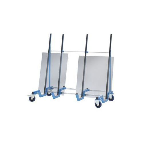 Wózek do transportu płyt,wersja niskopodłogowa