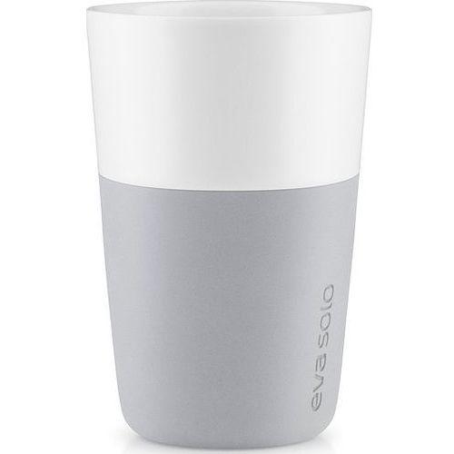 Porcelanowy kubek do latte, Marble Grey, 2 szt. - Eva solo