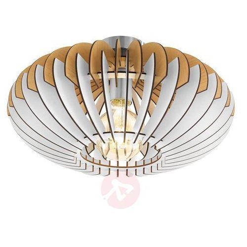 Eglo Sotos 96961 lampa sufitowa plafon drewno