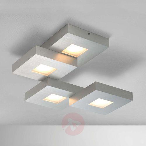 Bopp CUBUS lampa sufitowa LED Aluminium, 4-punktowe (4011895418678)