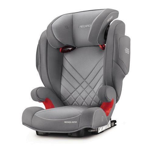 Recaro, Monza Nova 2 Seatfix, fotelik samochodowy, 15-36 kg, Aluminium grey