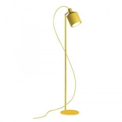 King home Lampa podłogowa lektor żółta - aluminium (5900000040561)