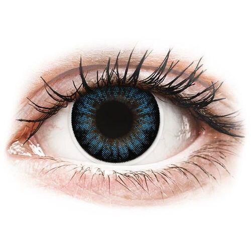 Maxvue vision Colourvue bigeyes cool blue - korekcyjne (2 soczewki) (9555644803896)
