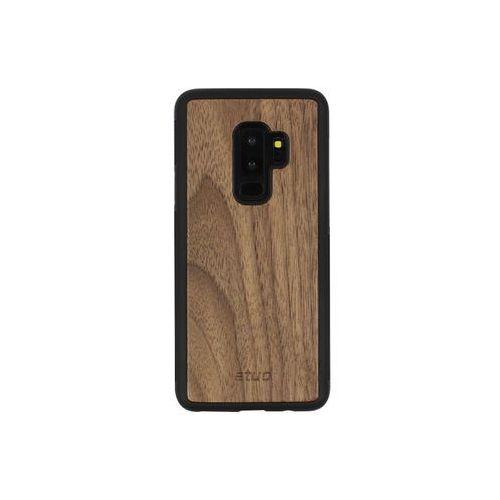 Samsung Galaxy S9 Plus - etui na telefon Wood Case - orzech amerykański, ETSM672WOOD00O000
