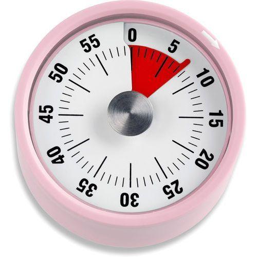 Minutnik mechaniczny, różowy, podstawa magnetyczna, ADE (AD-TD 1704)