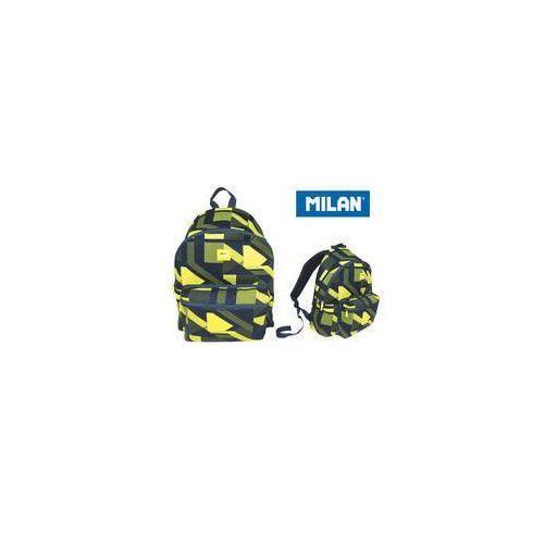 Plecak MILAN duży 21 L Knit żółty