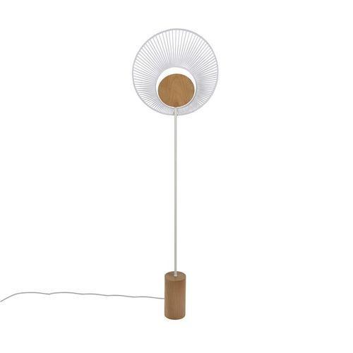 Oyster-lampa podlogowa metal & bawelna wys.145cm marki Forestier