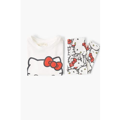 - piżama dziecięca kitty 80-104 cm marki Mango kids