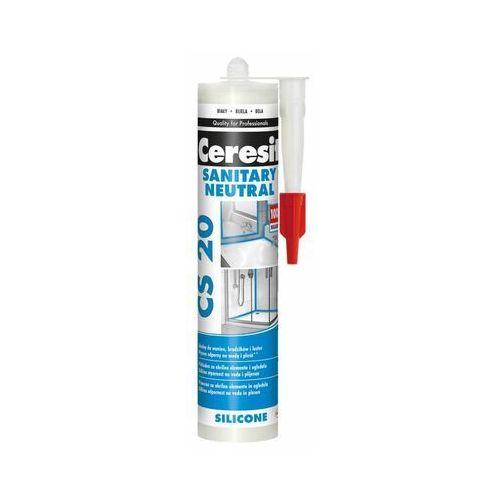Silikon sanitarny Ceresit Neutral 280 ml biały