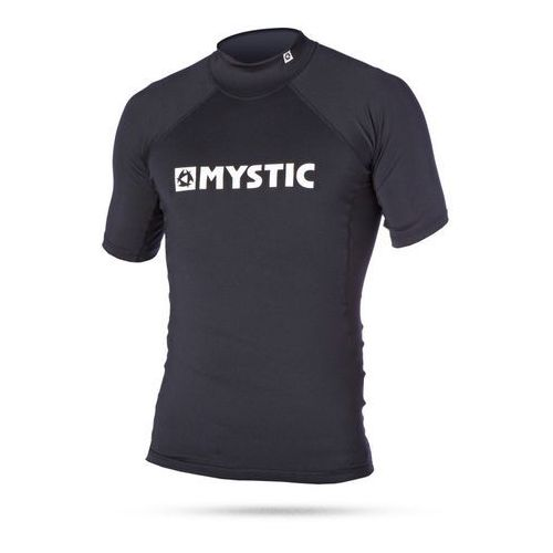 Mystic Lycra 2016 star rashvest junior s/s black