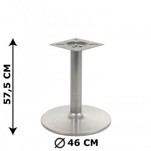 Podstawa stolika ny-b006, aluminium, wysokość 57,5 cm (stelaż stolika, stołu) marki Stema - ny