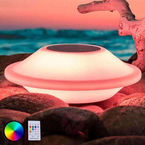 Pływająca lampa dekoracyjna LED Peer z głośnikiem (4043689951955)