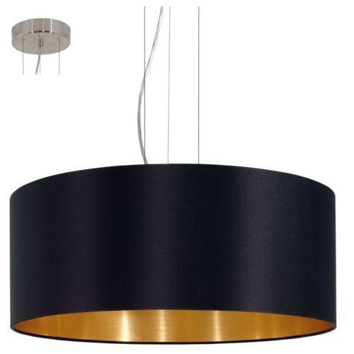 Eglo 31605 - lampa wisząca maserlo 3xe27/60w/230v (9002759316051)
