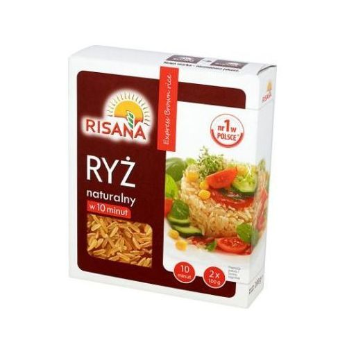 Sonko Ryż naturalny risana 2x100 g