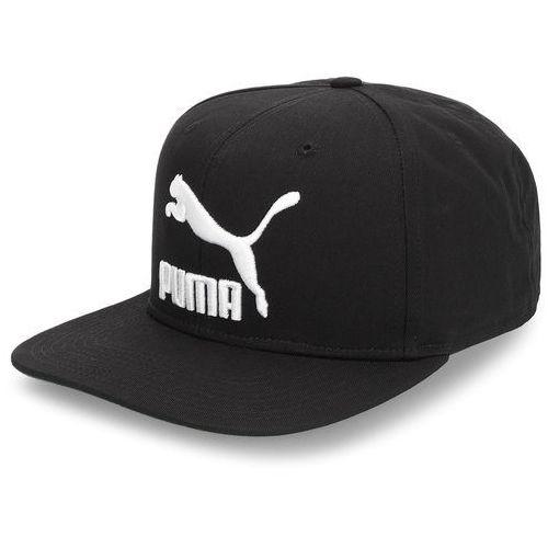 Puma Czapka z daszkiem - ls colour black cap 052942 21 puma black/puma white/solid