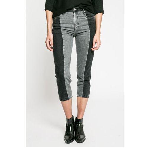 - jeansy patchy monotone marki Pepe jeans