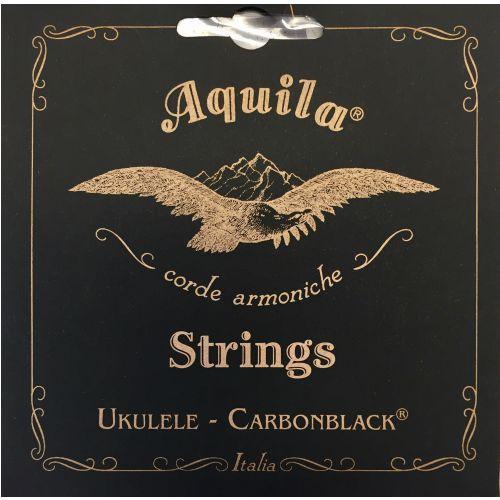 carbonblack struny do ukulele gcea tenor, high-g marki Aquila
