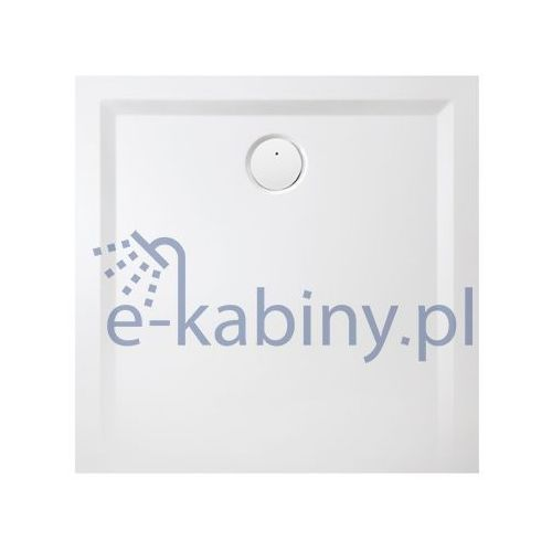 brodzik kwadratowy space mineral b-m/space 100x100x1,5 100x100x1,5cm marki Sanplast