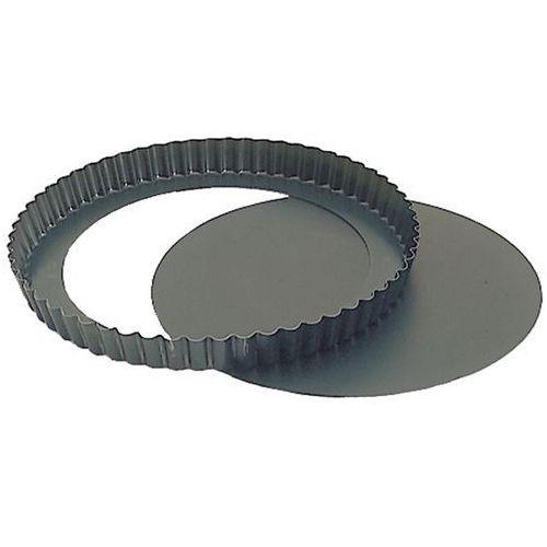 Forma falista ze stali z wyjmowanym dnem o średnicy 280 mm   CONTACTO, 736/280