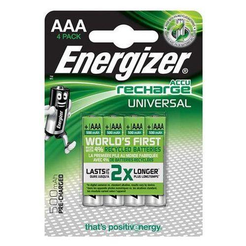 Akumulator ENERGIZER Universal, AAA, HR03, 1,2V, 500mAh, 4szt., EN-424256