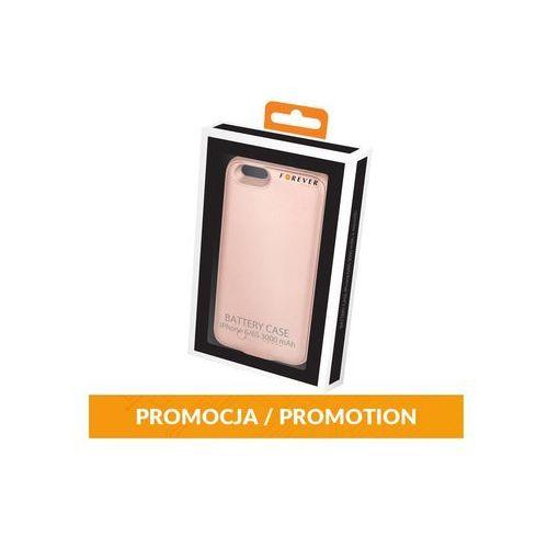 Battery Case Forever iPhone 6/6S 3000 mAh + microSD różowe-złota