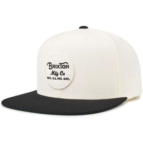 czapka z daszkiem BRIXTON - Wheeler Snapback Black-Off White (BKOFF) rozmiar: OS