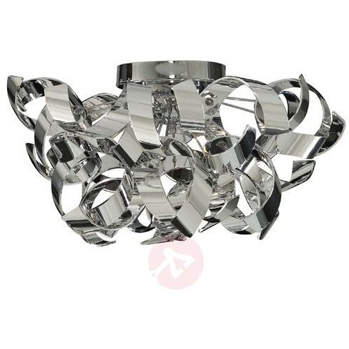 Searchlight Lampa sufitowa curls o falowanym designie (5053423026916)