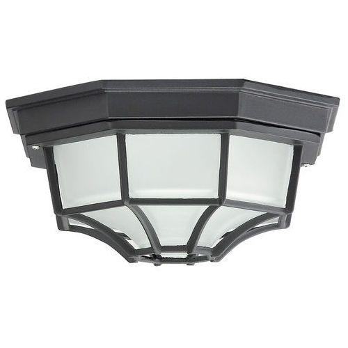 Plafon zewnętrzny lampa sufitowa milano 1x100w e27 ip43 czarny 8346 marki Rabalux