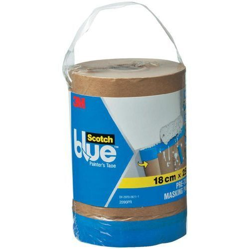 Papier maskujący 3M ScotchBlue™ DE272959367, (DxS) 25 m x 180 mm, 25 m, 1 szt. (4046719670413)