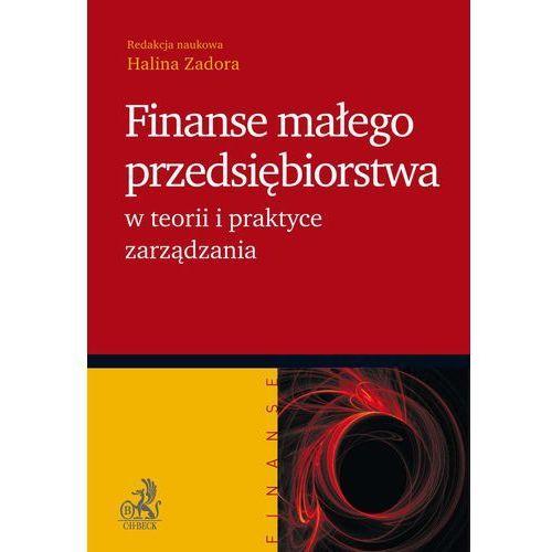 Finanse małego przedsiębiorstwa w teorii i praktyce zarządzania - Halina Zadora (456 str.)