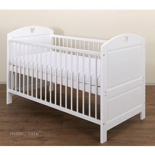 łóżeczko - tapczanik 70x140 cm białe marki Mamo-tato