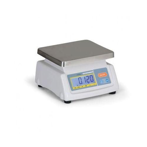 T-scale Waga stołowa z legalizacją tst28-6d, 2 wyświetlacze