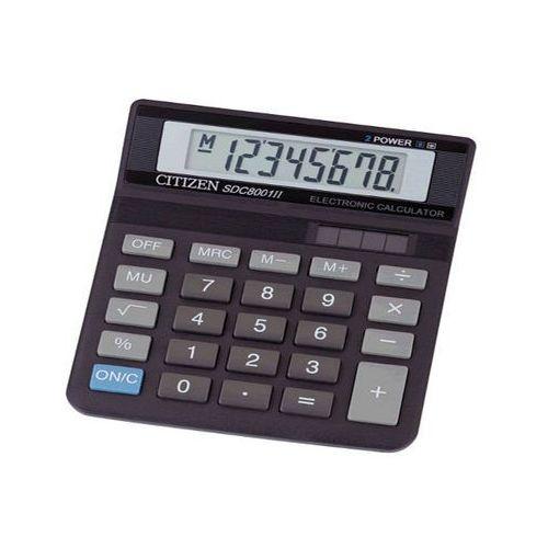 kalkulator sdc-8001nii wyprodukowany przez Citizen