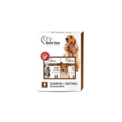 Over Zoo Szampon i odżywka dla psów długowłosych dwupak 2x250ml