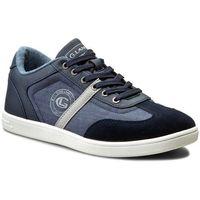 Sneakersy - mp07-16238-01 granatowy, Gino lanetti, 40-46