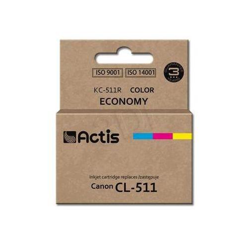 Tusz  kc-511r (do drukarki canon, zamiennik cl-511 standard 12ml trójkolorowy) marki Actis