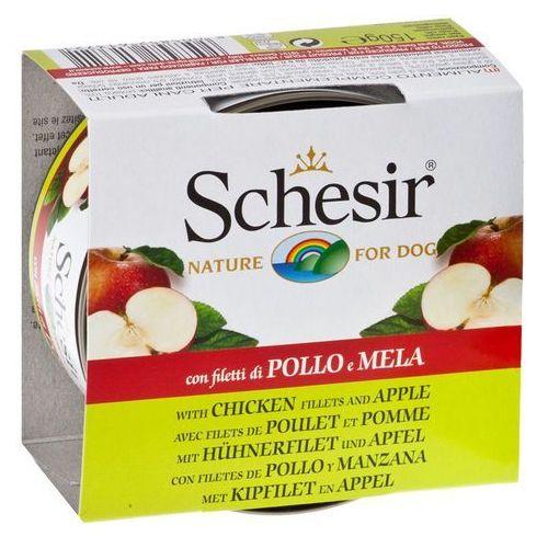 Schesir Konzerva  dog fruit kuřecí + ananas 150g (8005852613714)