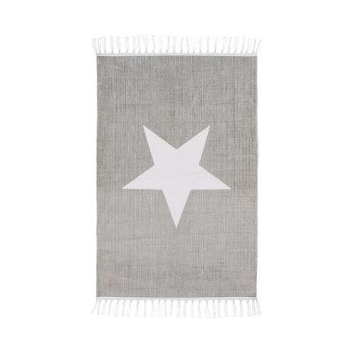 Inspire Dywan bawełniany star jasnoszary 60 x 90 cm (3276000630838)