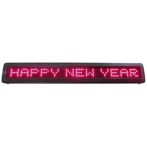 Wyświetlacz ruchomych napisów LED Ibiza MOVING-MES15R