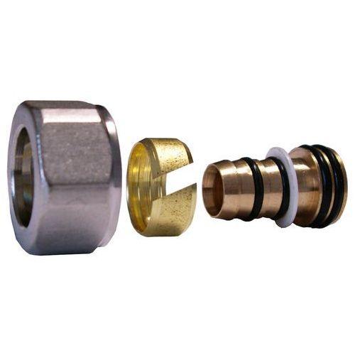 Schlosser Złączka zaciskowa do rury z tworzywa sztucznego pex gw m22x1,5 - 16x2 6026 00003.03 stal