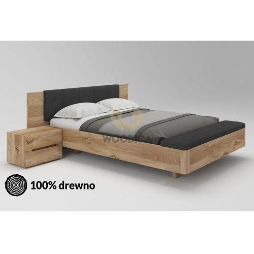 Łóżko dębowe lewitujące 02 140x200 marki Woodica