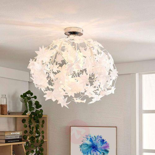 Lampenwelt.com Lampa sufitowa maple z pięknym wzorem w liście