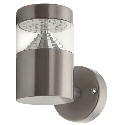 Kinkiet Kanlux Agara EL-14L-UP 18600 lampa ścienna ogrodowa 1x3W LED IP44 stal nierdzewna