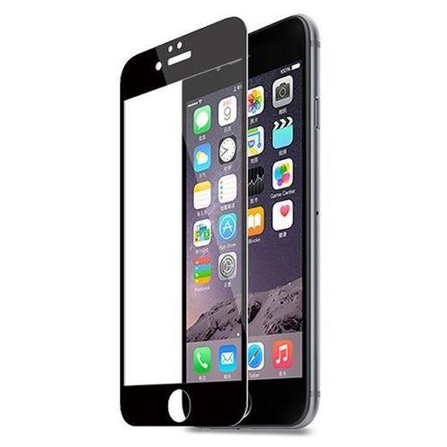 Zolti Hartowane szkło ochronne 0.3mm 9h dla apple iphone 6 plus z czarną ramką - czarny