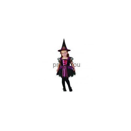 Strój czarownica z kapeluszem rozmiar 92/104 cm, marki Godan