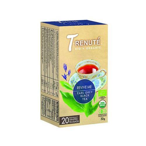 T'renute (herbaty) Herbata czarna o smaku earl grey revive me bio 30 g (1,5 g x 20 szt.) - t'renute
