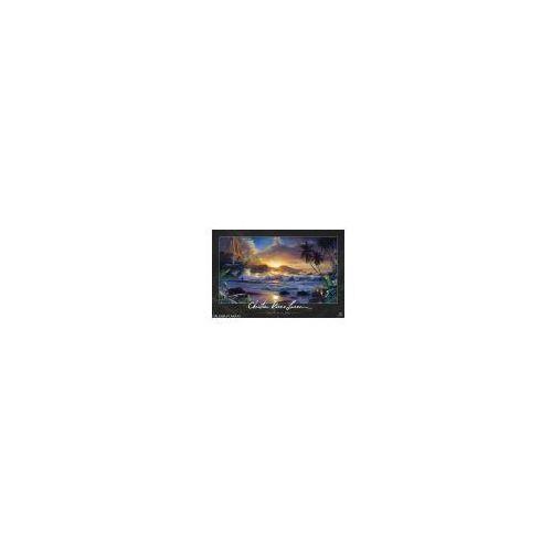 Lassen - Wzburzone Morze i Zachód Słońca w Tropikach - plakat (8714597330250)
