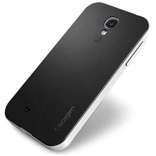 Etui SPIGEN SGP10219 do Galaxy S4 Biały + DARMOWY TRANSPORT!, kolor biały