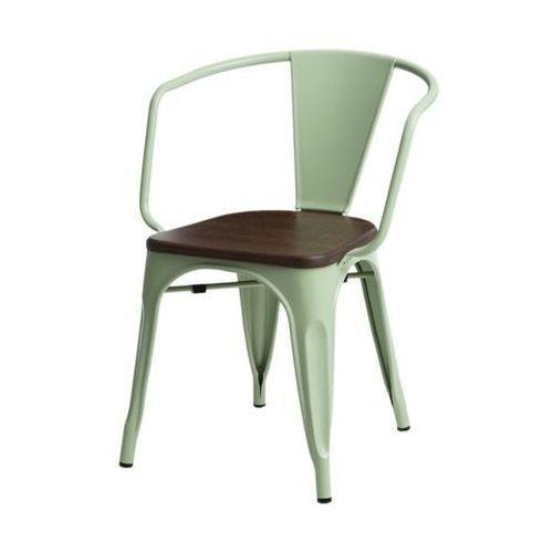 Krzesło Paris Arms Wood sosna - zielony, 72792